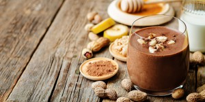 Healthy Breakfast Peanut Butter Smoothie